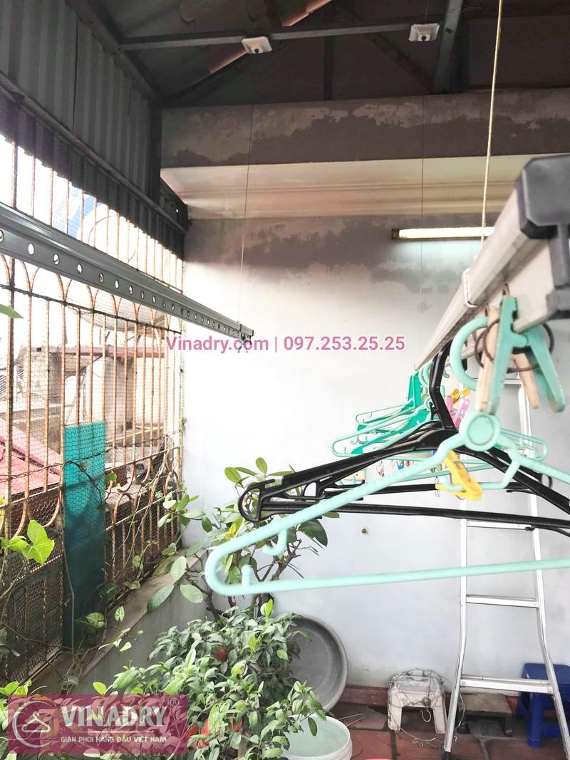 Ảnh và báo giá sửa giàn phơi thông minh tại nhà anh Cảnh, ngõ 191 Thạch Bàn, Long Biên - 01