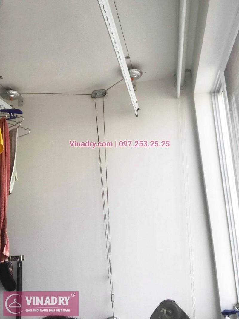 Sửa giàn phơi thông minh giá rẻ tại Park Hill Times City nhà chị Hiền, tòa Park 8 - 01