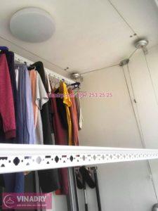 Sửa giàn phơi thông minh giá rẻ tại Park Hill Times City nhà chị Hiền, tòa Park 8 - 04