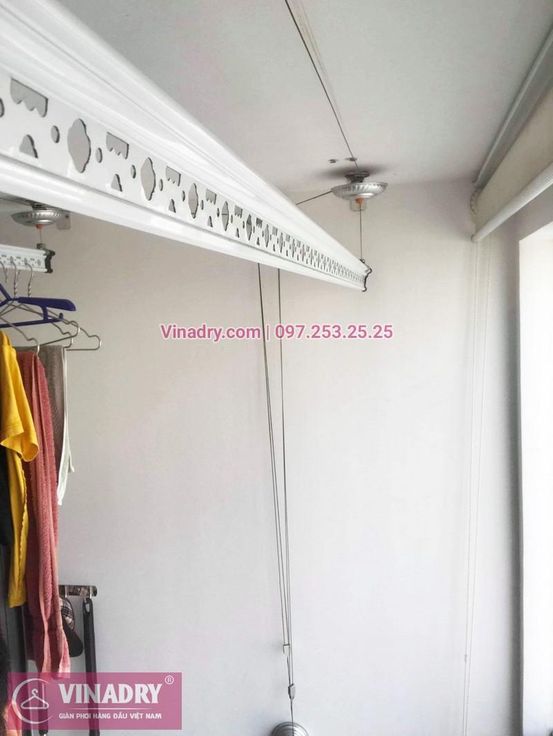 Sửa giàn phơi thông minh giá rẻ tại Park Hill Times City nhà chị Hiền, tòa Park 8 - 06
