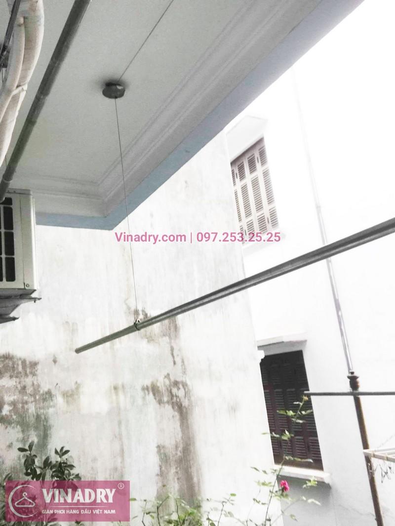 Sửa giàn phơi quần áo thông minh nhà chị Tâm, phố Bạch Mai, Hai Bà Trưng, Hà Nội - 01