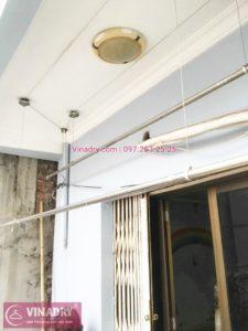 Sửa giàn phơi quần áo thông minh nhà chị Tâm, phố Bạch Mai, Hai Bà Trưng, Hà Nội - 03