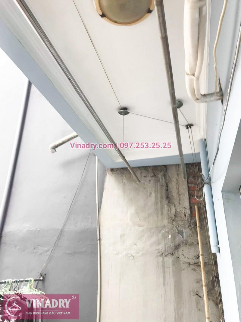 Sửa giàn phơi quần áo thông minh nhà chị Tâm, phố Bạch Mai, Hai Bà Trưng, Hà Nội - 07