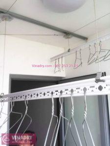 Sửa giàn phơi thông minh chung cư nhà cô Toàn, Tòa T8 Times City - 01