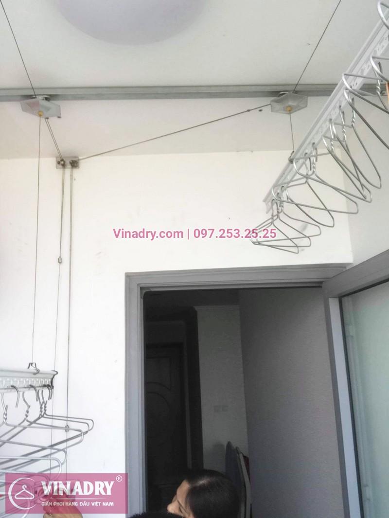 Sửa giàn phơi thông minh chung cư nhà cô Toàn, Tòa T8 Times City - 03