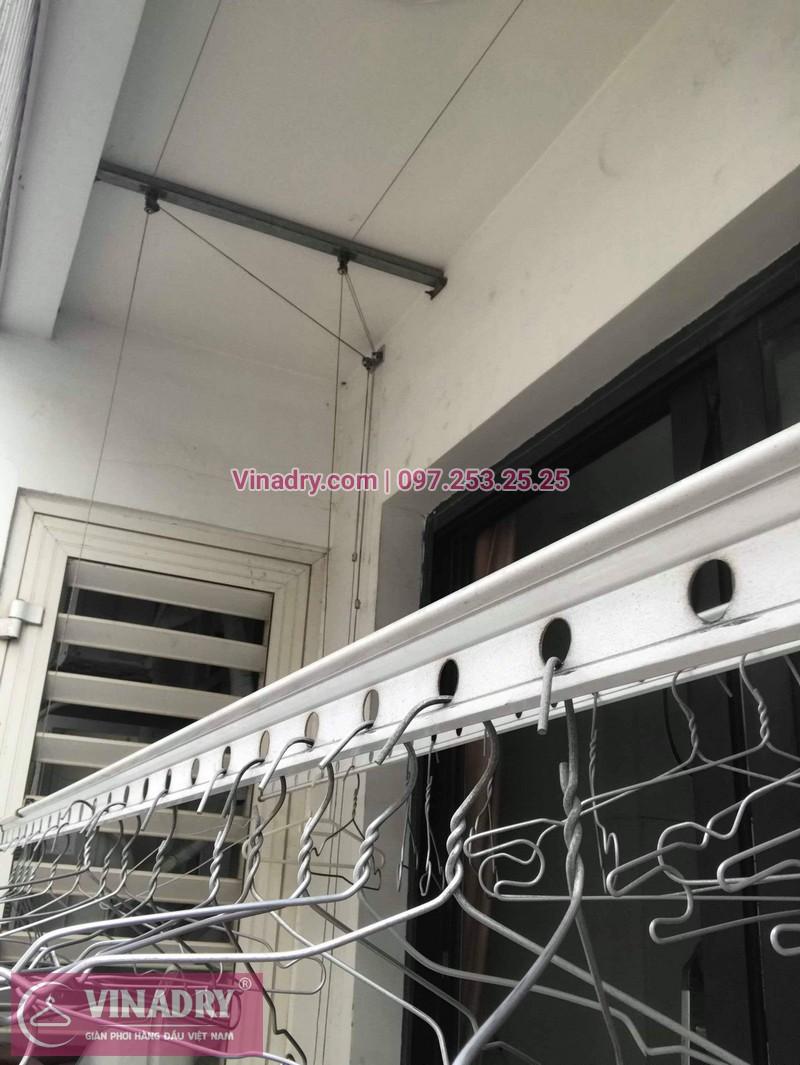 Thay dây cáp giàn phơi thông minh tại Times City nhà chị Hào, tòa T9 - 03