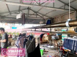 Giàn phơi thông minh Vinadry GP941 lắp tại số 162 ngõ trại cá Hai Bà Trưng Hà Nội