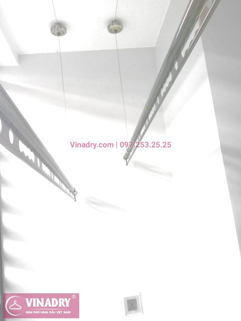 Vinadry GP941 được lắp hoàn thiện tại ban công gia đình anh chị Hoa Tuấn - chung cư Vinhome Liễu Gia