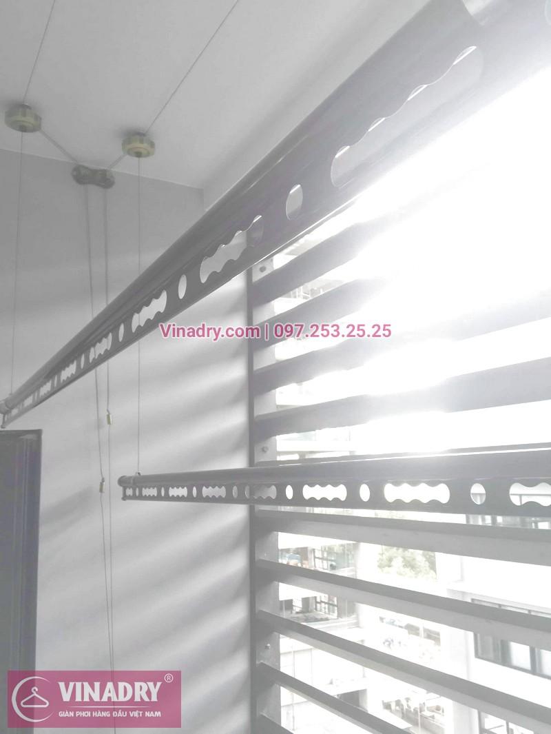Vinadry GP941 được lắp hoàn thiện tại ban công gia đình anh chị Hoa Tuấn - chung cư Vinhome Liễu Giai