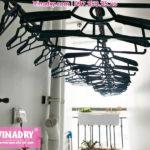 Giàn phơi Vinadry GP941 lắp ở lô gia nhà chị Phong tại P3416, Park7 – Times City