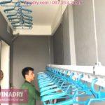 Lắp giàn phơi giá rẻ Hòa Phát Star 701 tại chung cư Eco City nhà anh Liêm