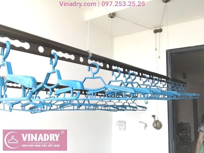 Giàn phơi đa năng Vinadry GP941 lắp tại KĐT Mễ Trì Hạ nhà anh Dưỡng - 04
