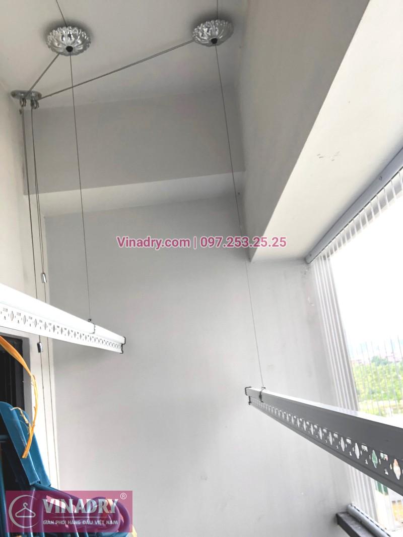"""Giàn phơi Vinadry GP911 """"đẹp lạ"""" giá chỉ 1.690k lắp tại Goldmark City nhà anh Vui, tòa R4A - 01"""