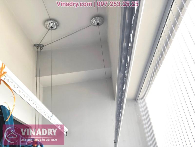 """Giàn phơi Vinadry GP911 """"đẹp lạ"""" giá chỉ 1.690k lắp tại Goldmark City nhà anh Vui, tòa R4A - 02"""
