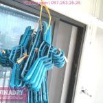"""Giàn phơi Vinadry GP911 """"đẹp lạ"""" giá chỉ 1.690k lắp tại Goldmark City nhà anh Vui, tòa R4A"""