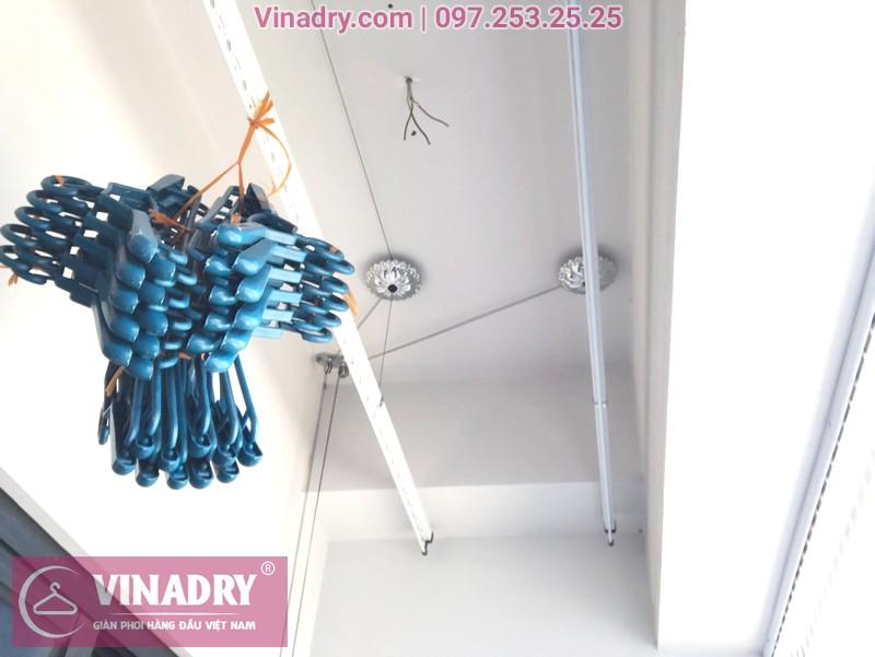 """Giàn phơi Vinadry GP911 """"đẹp lạ"""" giá chỉ 1.690k lắp tại Goldmark City nhà anh Vui, tòa R4A - 05"""