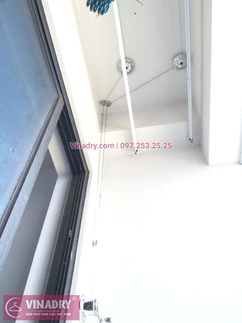 """Giàn phơi Vinadry GP911 """"đẹp lạ"""" giá chỉ 1.690k lắp tại Goldmark City nhà anh Vui, tòa R4A - 07"""