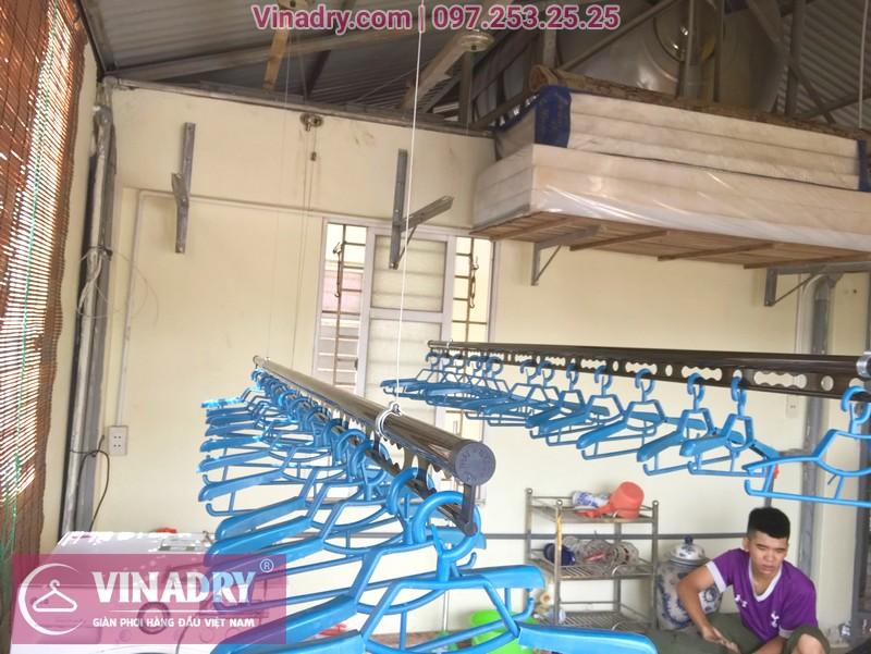 Lắp giàn phơi thông minh Vinadry GP902 nhà anh Hiển, ngõ 58 Đào Tấn, Ba Đình, Hà Nội - 07