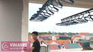 Sức hút của giàn phơi Vinadry GP941 qua bộ ảnh thực tế lắp tại Đình Xuyên, Gia Lâm