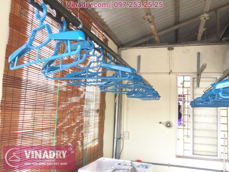 Lắp giàn phơi thông minh Vinadry GP902 nhà anh Hiển, ngõ 58 Đào Tấn, Ba Đình, Hà Nội - 03