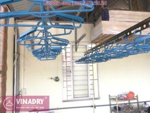 Lắp giàn phơi thông minh Vinadry GP902 nhà anh Hiển, ngõ 58 Đào Tấn, Ba Đình, Hà Nội - 02