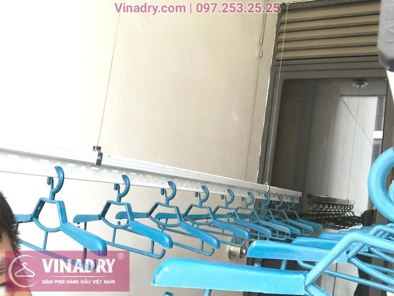 """Hình ảnh giàn phơi thông minh """"ăn khách"""" nhất 2019 lắp tại chung cư TSQ Mỗ Lao, Hà Đông - 03"""