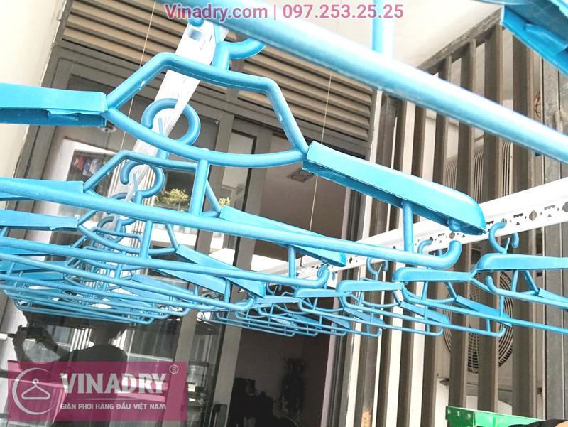 """Hình ảnh giàn phơi thông minh """"ăn khách"""" nhất 2019 lắp tại chung cư TSQ Mỗ Lao, Hà Đông - 05"""