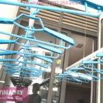 """Hình ảnh giàn phơi thông minh """"ăn khách"""" nhất 2019 lắp tại chung cư TSQ Mỗ Lao, Hà Đông"""