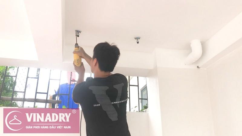 Giàn phơi thông minh Vinadry GP941 lắp tại nhà anh Tâm, ngõ 230 Đinh Công Thượng - 01