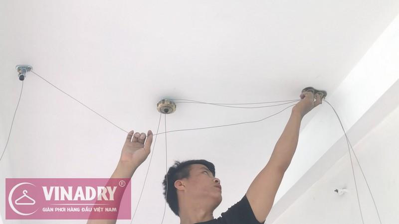Giàn phơi thông minh Vinadry GP941 lắp tại nhà anh Tâm, ngõ 230 Đinh Công Thượng - 02