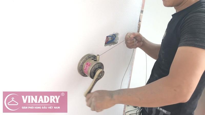 Giàn phơi thông minh Vinadry GP941 lắp tại nhà anh Tâm, ngõ 230 Đinh Công Thượng - 04