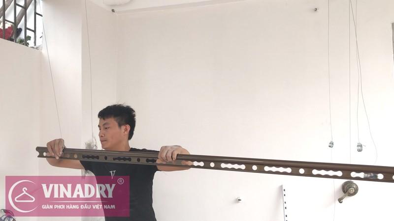 Giàn phơi thông minh Vinadry GP941 lắp tại nhà anh Tâm, ngõ 230 Đinh Công Thượng - 05