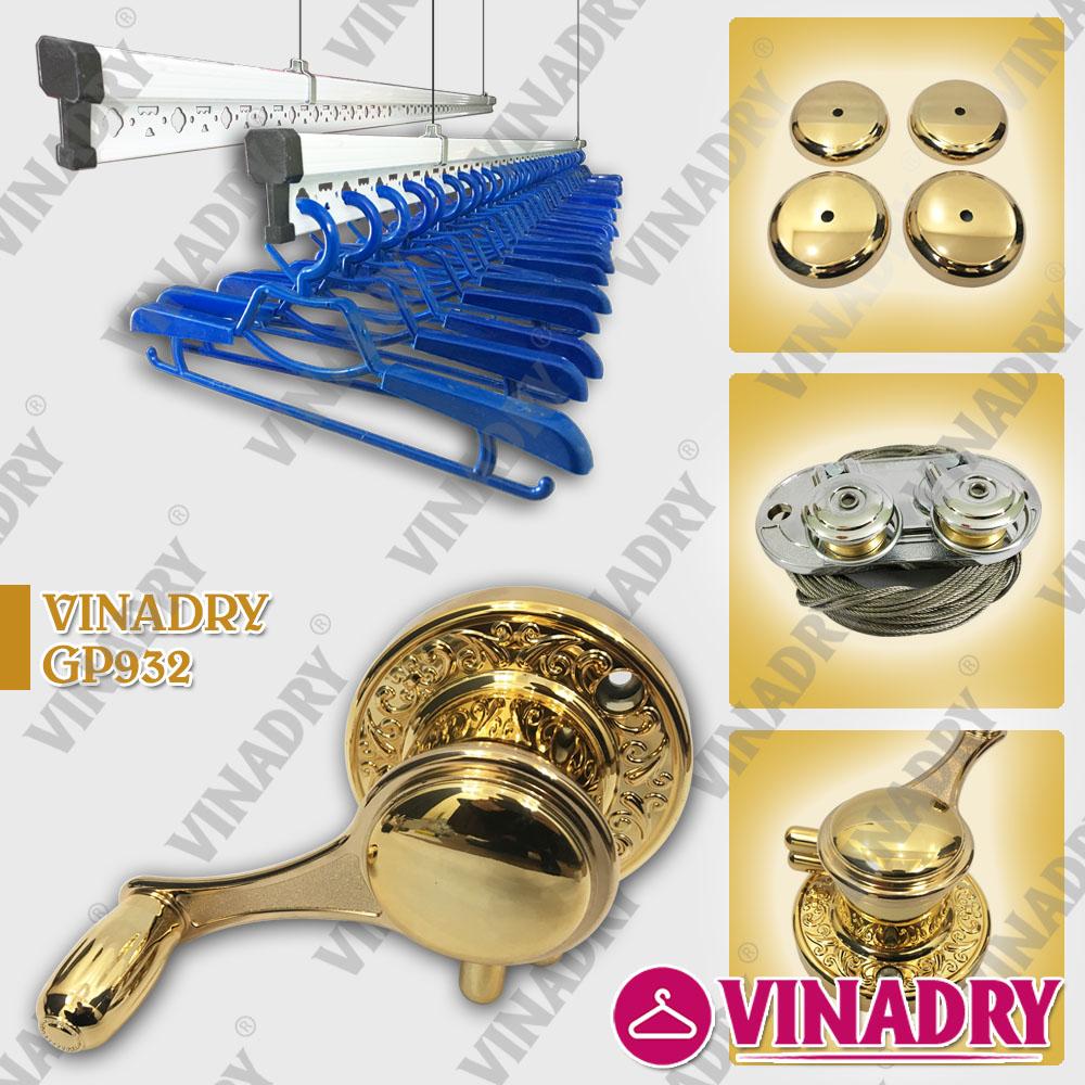 Thiết kế mang lại sự thông minh cho giàn phơi - Vinadry GP932