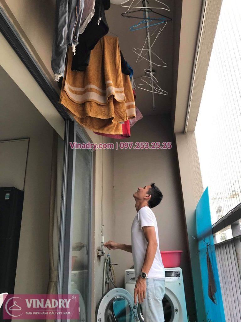 Sửa giàn phơi thông minh Hà Nội tại chung cư Capital Garden, 102 Trường Chinh