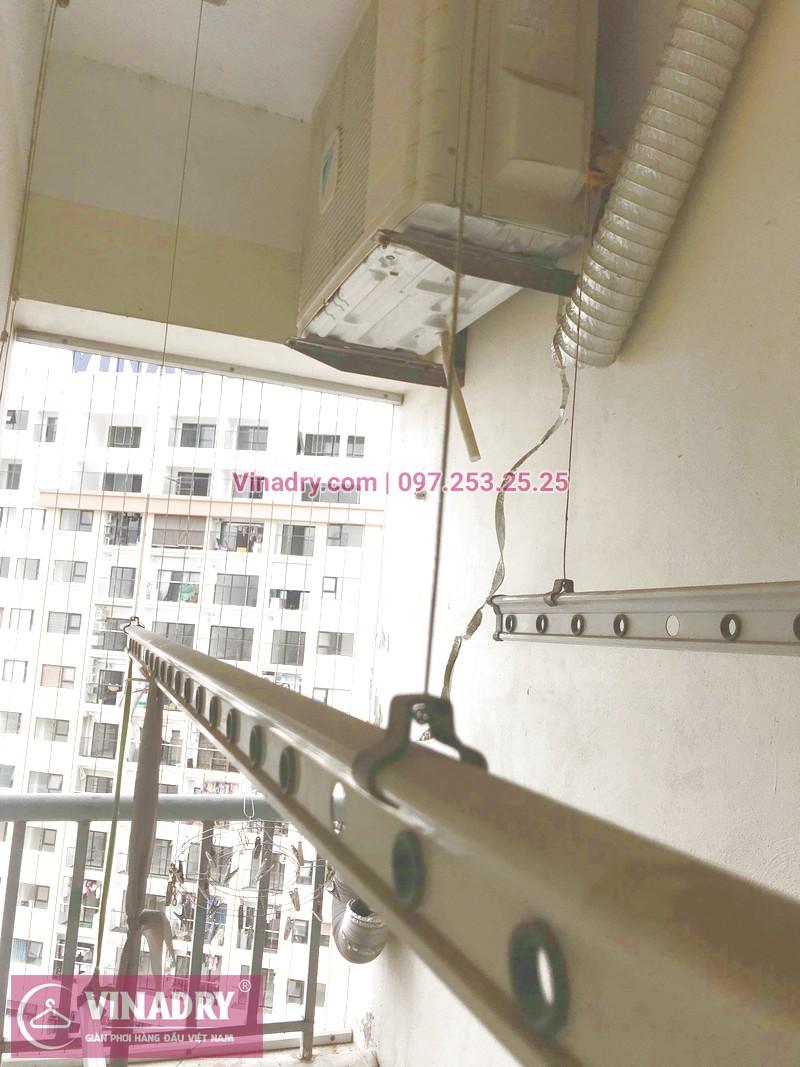 Vinadry – đơn vị chuyên sửa chữa giàn phơi thông minh nhanh giá rẻ nhất Hà Nội - thay dây cáp tại căn hộ 4232 - CT 12C Kim Văn Kim Lũ – Hà Nội