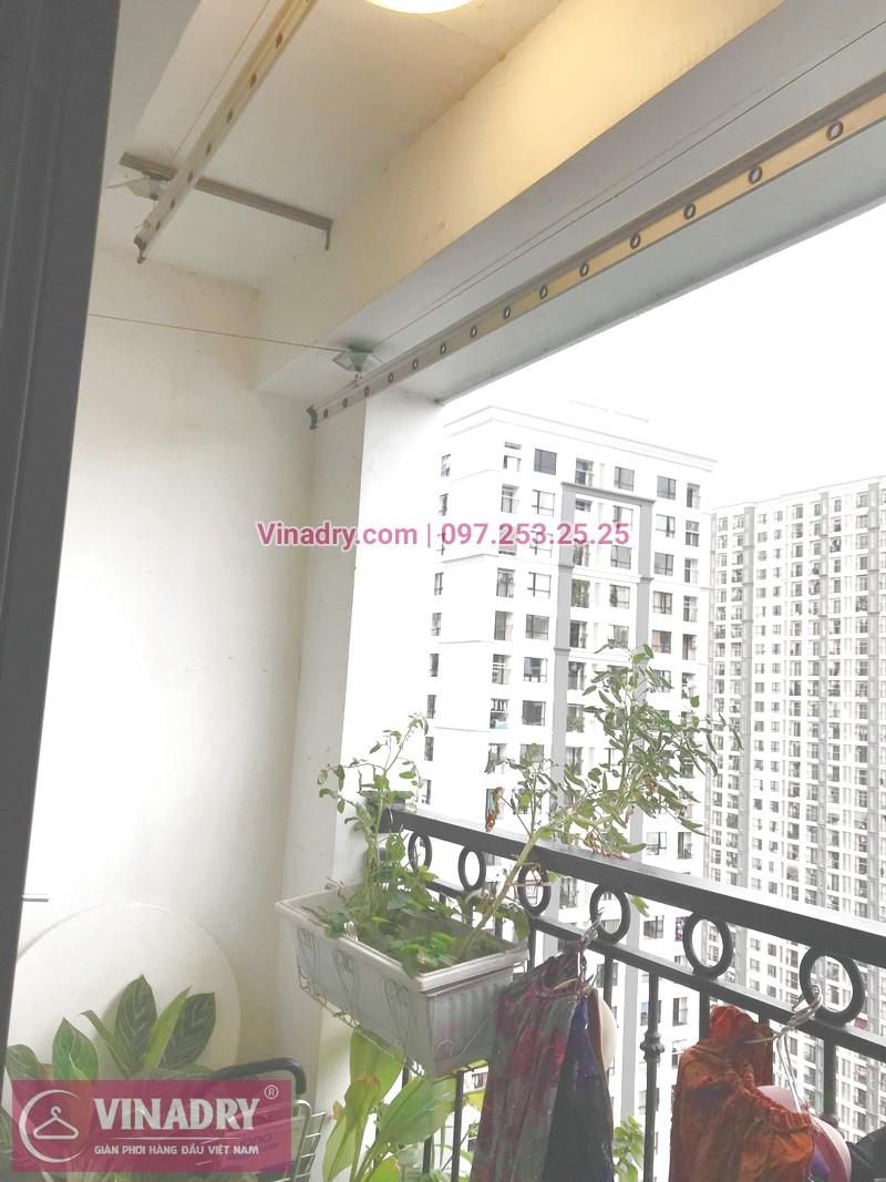 Dịch vụ sửa giàn phơi nhanh giá rẻ nhất Hà Nội của Vinadry tại căn hộ 1805 T3 Times City