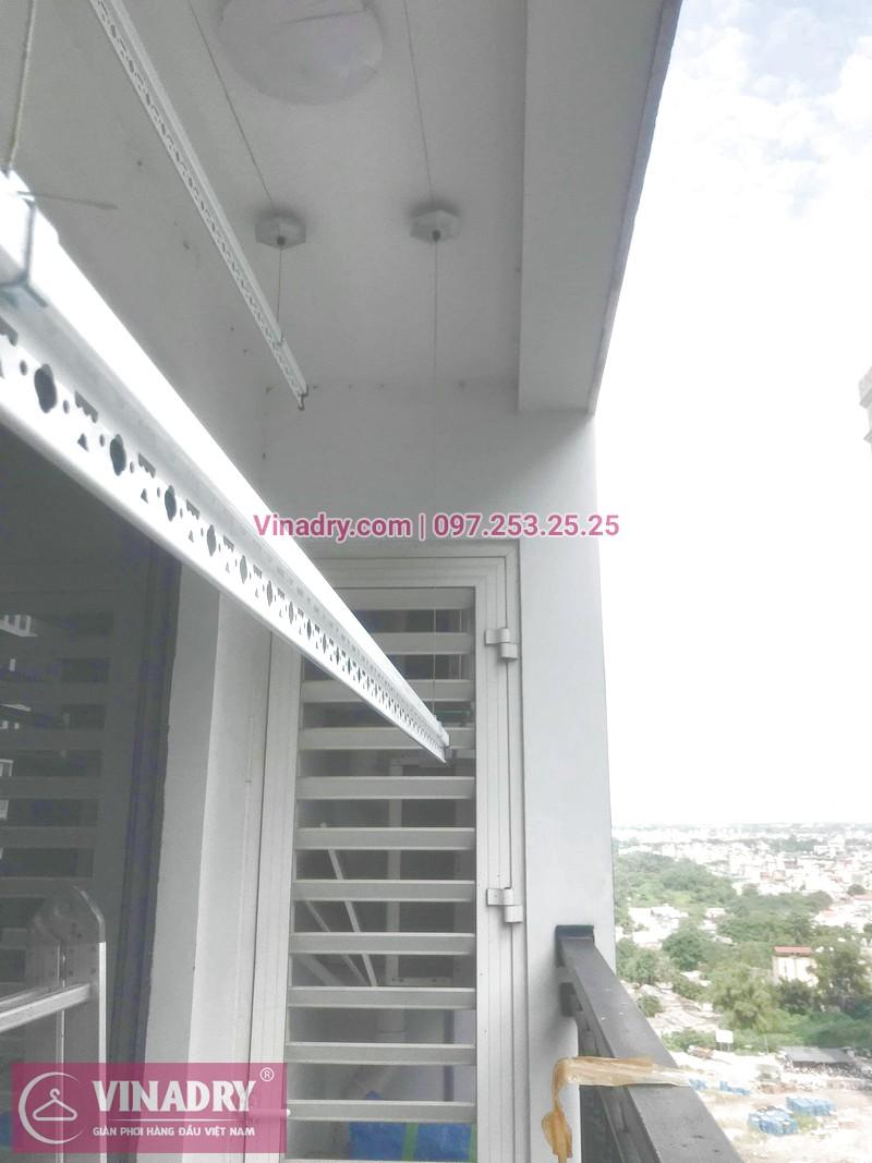 [Vinadry] Sửa chữa giàn phơi thông minh, thay dây cáp nhanh nhất Hà Nội tại căn hộ 2109 Times City
