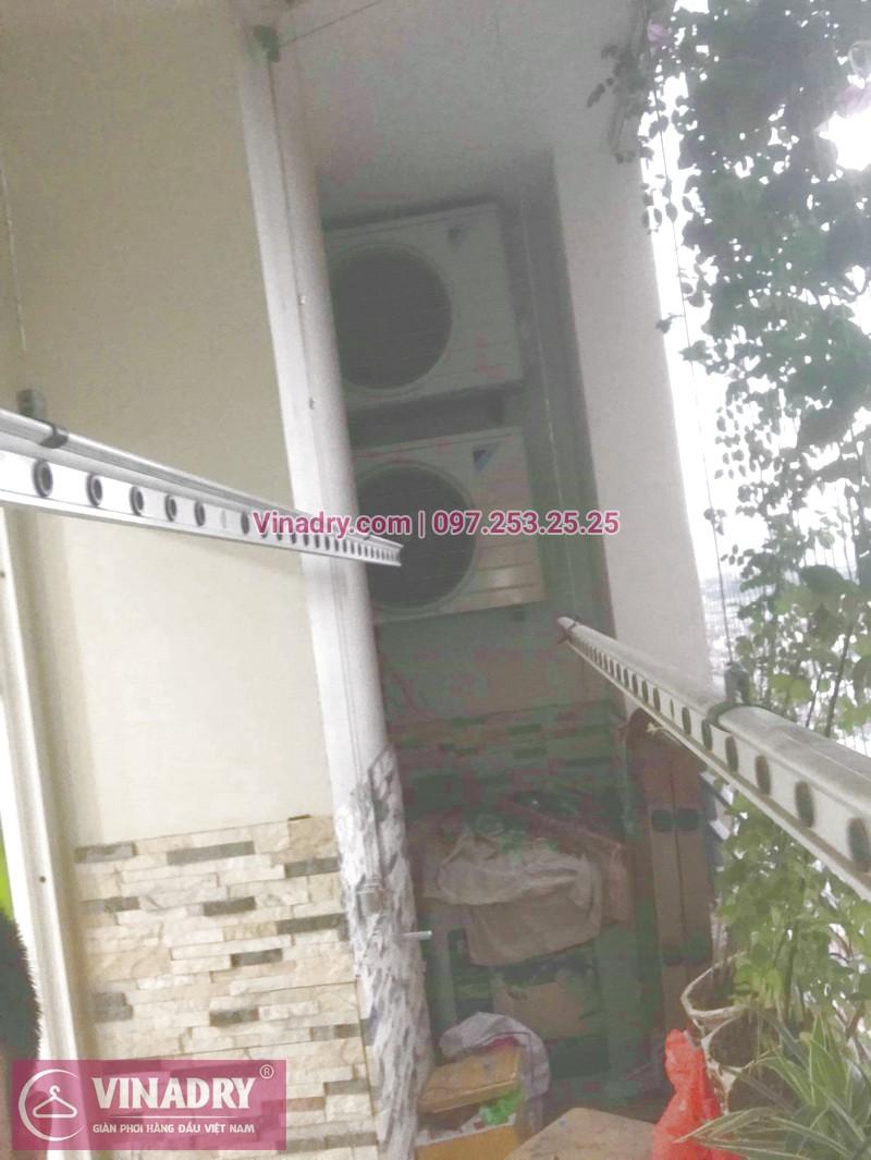 Dịch vụ sửa giàn phơi thông minh, thay bộ tời, thay cáp chất lượng giá rẻ nhất Hà Nội - ở phòng 1603 tầng 16 tòa nhà CT2a chung cư Nam Đô 606 Trương Định