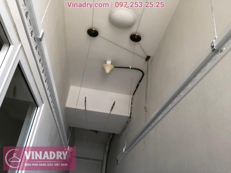 Lắp giàn phơi thông minh Hà Nội, chỉ 1.390.000đ tại chung cư Victoria Văn Phú