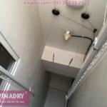 Lắp giàn phơi thông minh Hòa Phát HP702 tại chung cư Victoria Văn Phú, nhà chị Tươi