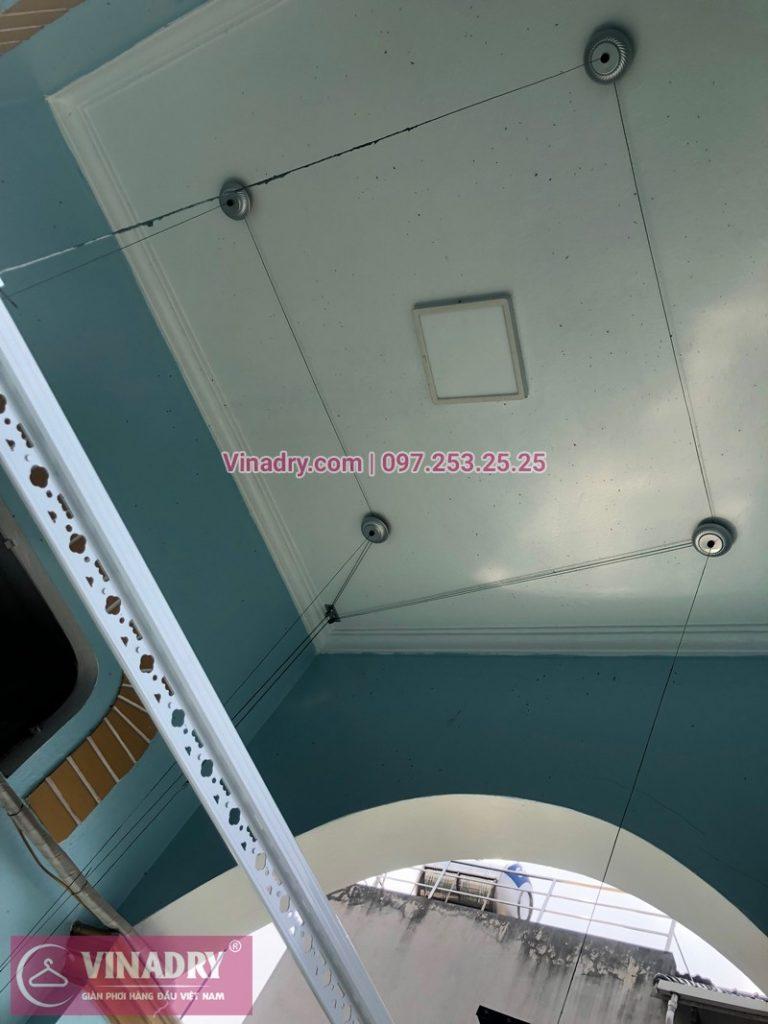 Lắp giàn phơi thông minh tại Đông Anh, Hà Nội, nhà anh Hợp, bộ Vinadry GP911