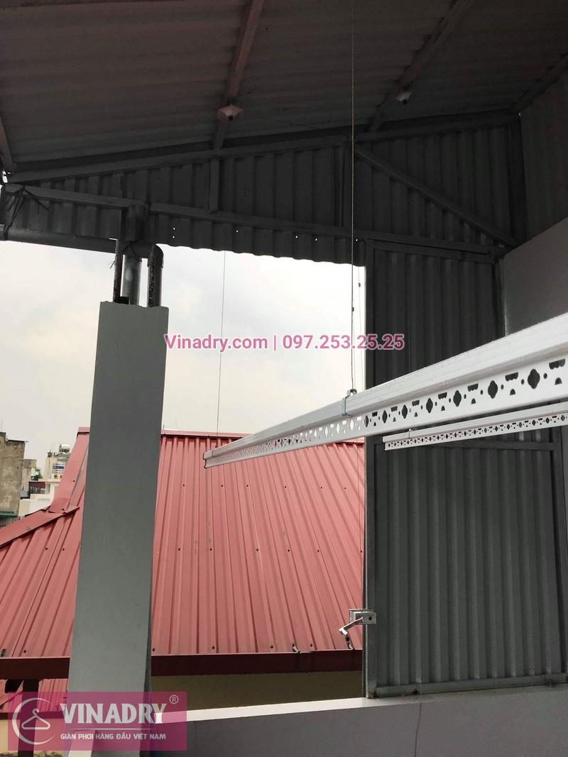 Lắp giàn phơi thông minh HP999B tại 31 Lê Qúy Đôn, Bạch Đằng, Hai Bà Trưng, Hà Nội, nhà chị Phương