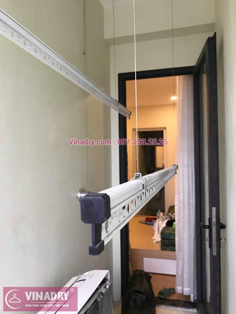 Lắp giàn phơi thông minh KS950, chung cư Gelexia Riverside 885 Tam Trinh, Hoàng Mai, Hà Nội, nhà anh Kiên