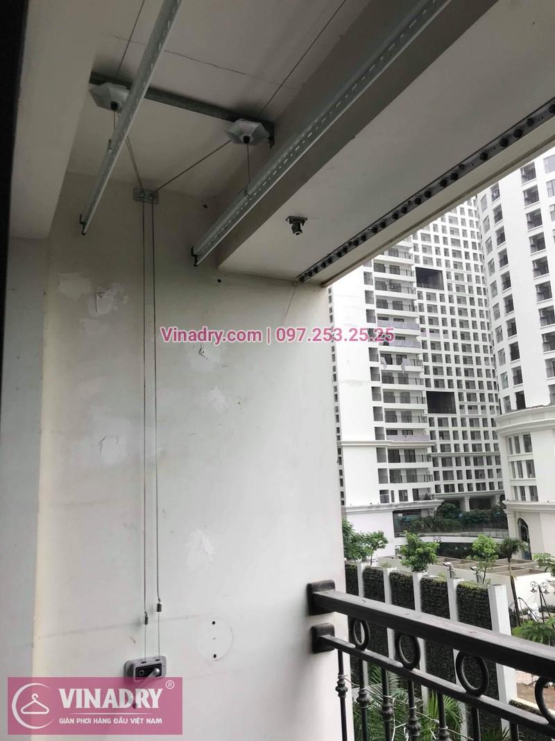 Lắp giàn phơi thông minh Hoàng Mai, tòa T18, Times City, Minh Khai, Hà Nội, nhà chú Cao