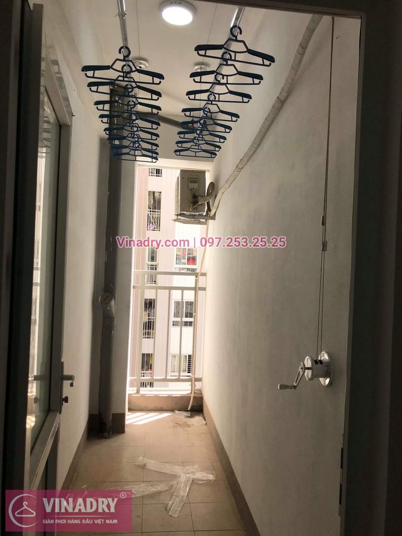 Địa chỉ bán giàn phơi thông minh Hà Nội, HP701 lắp tại Định Công, Hoàng Mai, nhà chú Long