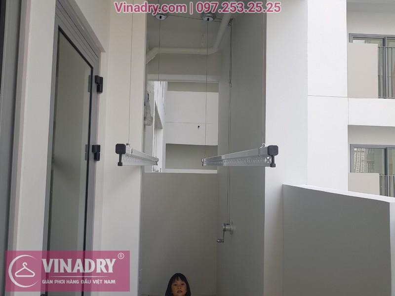 Lắp giàn phơi thông minh Quận 9, chung cư căn hộ Hausneo, Hồ Chí Minh, nhà chị Nụ