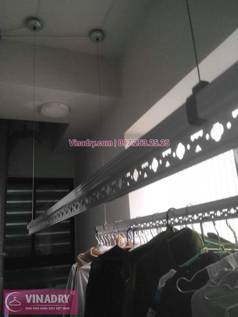 Sửa giàn phơi thông minh Bắc Từ Liêm, nhà chị Nhi, chung cư Goldmark City - 136 Hồ Tùng Mậu, Hà Nội
