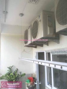Sửa giàn phơi thông minh Hai Bà Trưng, căn hộ P202, tòa A2 Thăng Long Garden, số 250 Minh Khai, Hà Nội, nhà chị Nga