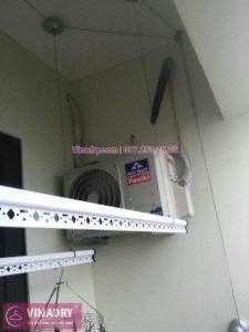 Sửa giàn phơi thông minh Hoàng Mai, chung cư Gelexia RiverSide 885 Tam Trinh, Yên Sở, Hà Nội, nhà chị Lam
