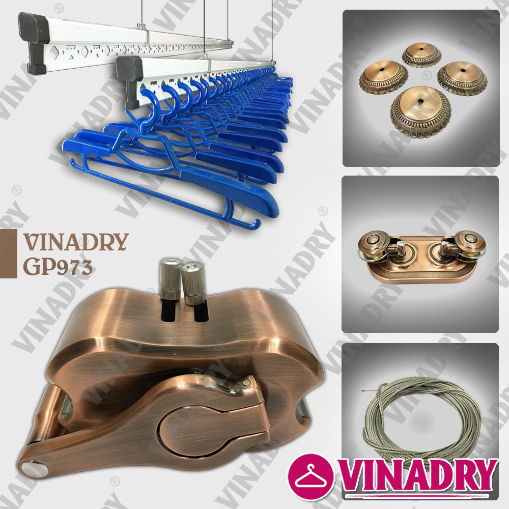 Giàn phơi thông minh chống rối Vinadry GP973 - vinadry-gp973